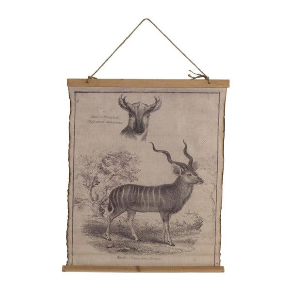 Plakat na bawełnianym płótnie Geese Antilope