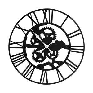 Żelazny zegar ścienny Black Iron