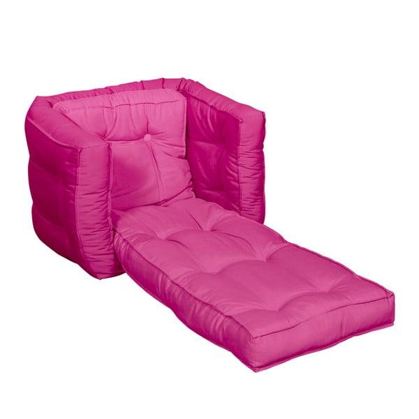 Fotel dziecięcy Karup Baby Dice Pink/Pink
