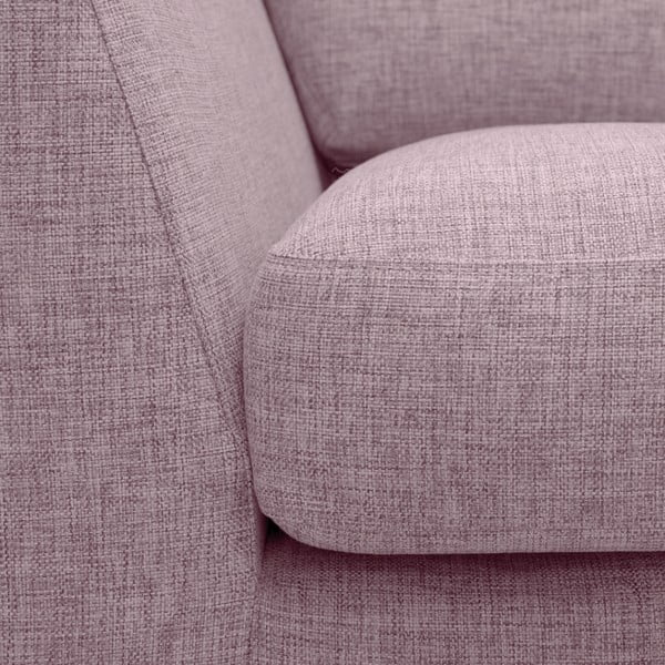 Różowa sofa 3-osobowa Vivonita Monroe