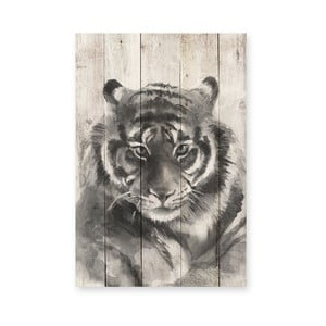 Drewniana tablica Tiger