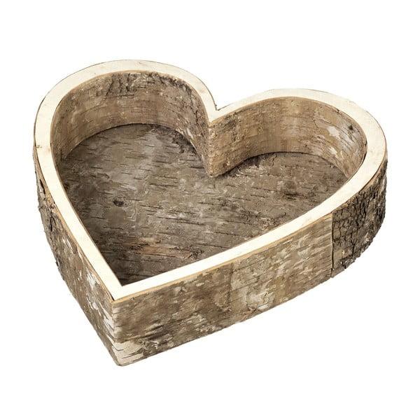 Taca Birch Heart, 28 cm
