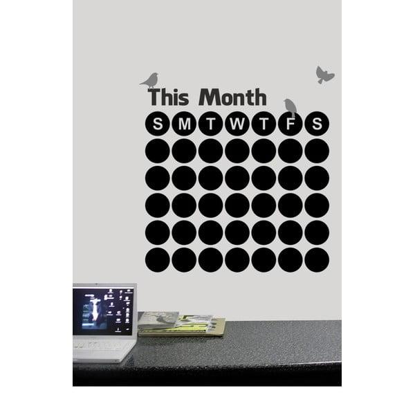 Dekoracyjna tablica samoprzylepna This Months