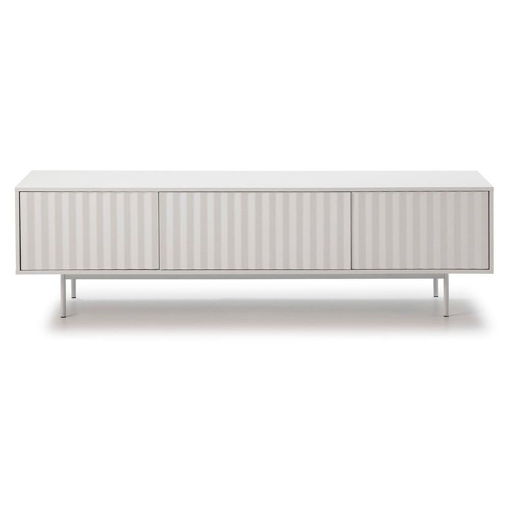 Biały stolik pod TV Teulat Sierra