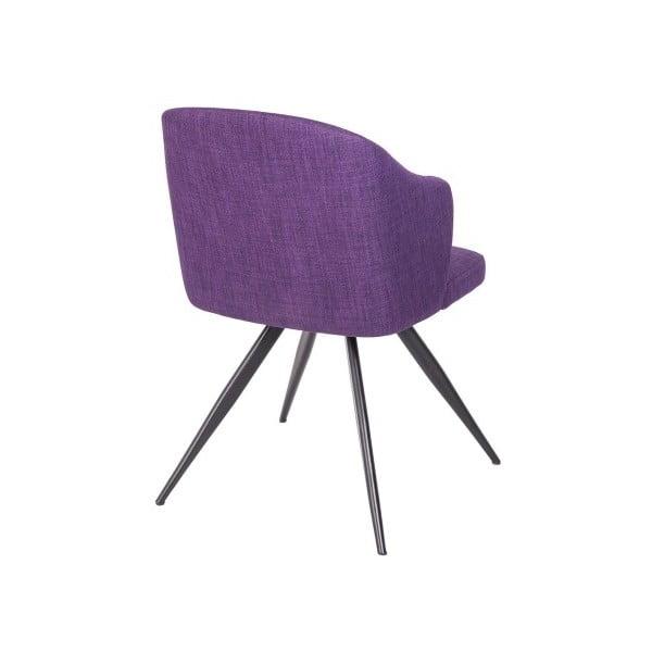 Fioletowe krzesło Ángel Cerdá Silla