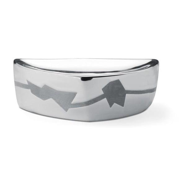 Mydelniczka Silver Soap, 14,8x4,5x8,7 cm