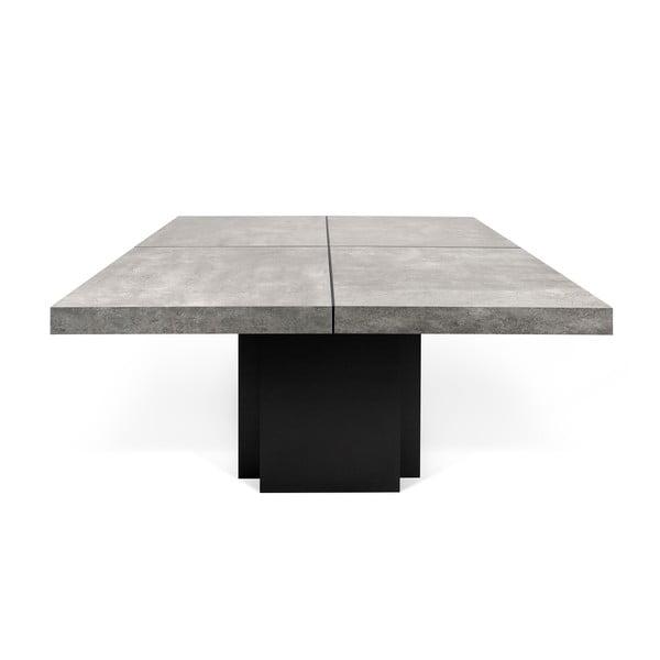 Stół do jadalni z betonowym blatem TemaHome Dusk, 130 cm