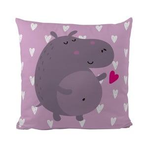 Poduszka   Hippo in Love, 50x50 cm