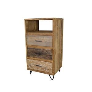 Wysoka komoda z drewna tekowego HSM Collection Baliaga