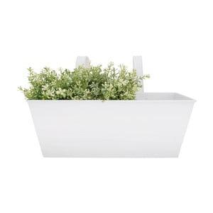 Biała doniczka wisząca Esschert Design