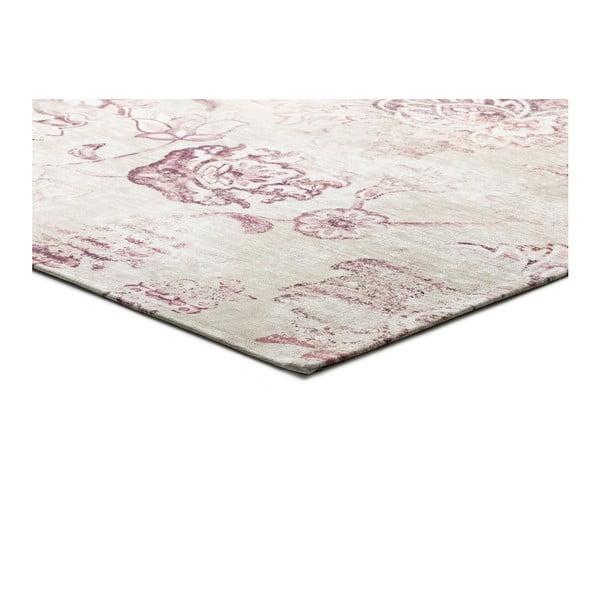 Beżowy dywan z domieszką bawełny Universal Chenile Beig, 60x110cm