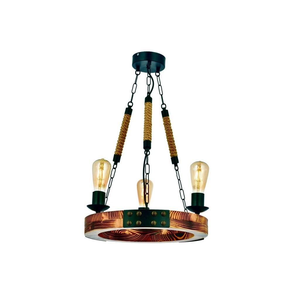 Lampa wisząca z drewna grabu Alara Yanık