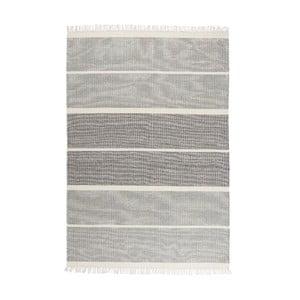 Wełniany dywan Reita Navy, 140x200 cm