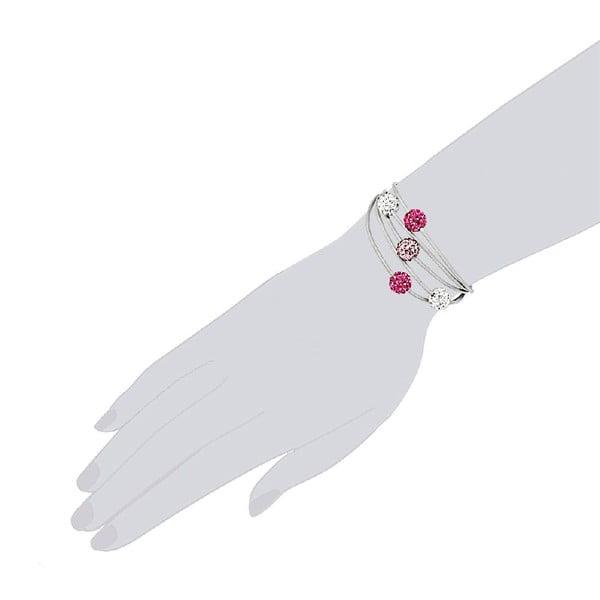 Bransoletka Silver Five, 21 cm