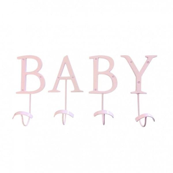 Wieszak   dekoracyjny Baby Pink