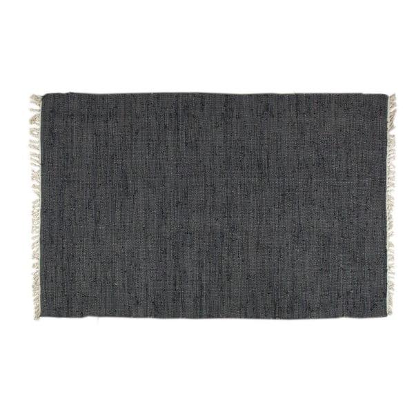 Dywan Plain Black, 80x150 cm
