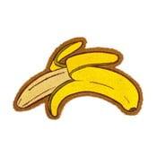 Wycieraczka z włókien kokosowych Fisura Felpudo Banana, 45x70 cm