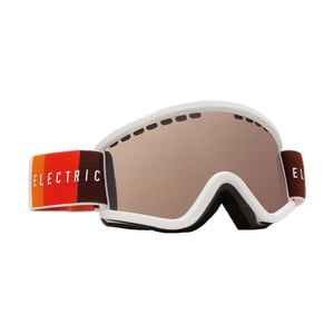 Gogle dziecięce Electric EGVK Orange Blast White - Bronze, roz. S