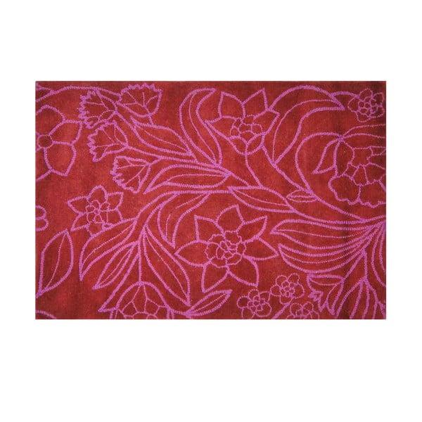 Wełniany dywan Petal, 121x182 cm