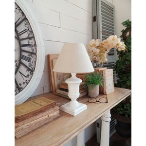 Lampa stołowa Antique White, 22x36 cm