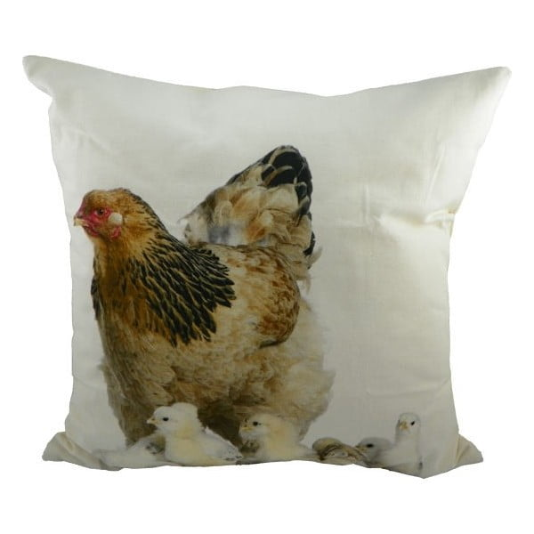 Poduszka Hen with Chicks 50x50 cm