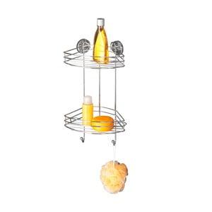 Samoprzylepna 2-poziomowa półka narożna Wenko Vacuum-Loc, do 33 kg