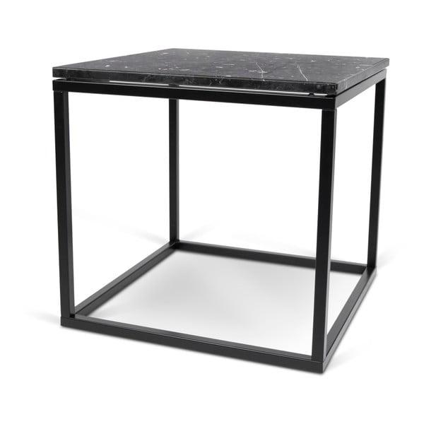 Mały czarny stolik TemaHome Prairie Marble