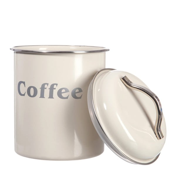 Zestaw 3 pojemników Cream Tea, Coffee and Sugar, 12x18 cm