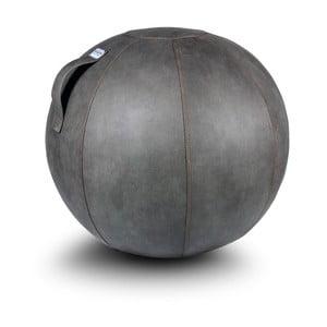 Szara piłka do siedzenia VLUV, 65 cm