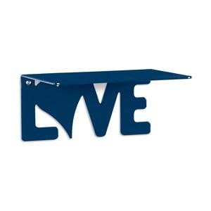 Półka Love, niebieska