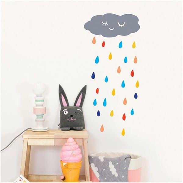 Naklejka dekoracyjna na ścianę Rain