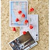 Komplet 8 pinezek Design Ideas MapMarker