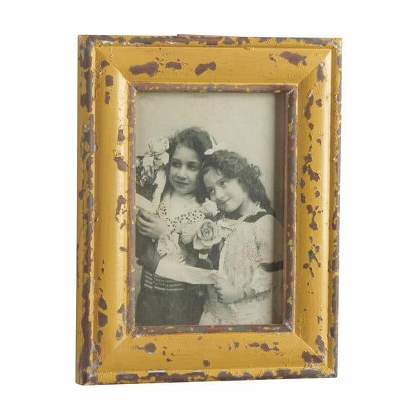 Ramka na zdjęcia Antique, żółta