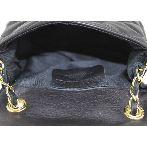 Skórzana torebka Custina Nero