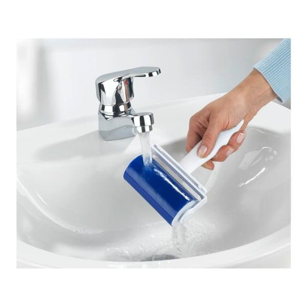 Niebieska rolka do usuwania kłaczków z ubrań Wenko Easy
