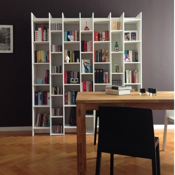 Biała biblioteczka De Eekhoorn Grenen