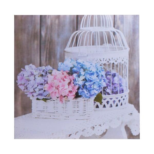 Obraz Flowers Cage, 40x40 cm