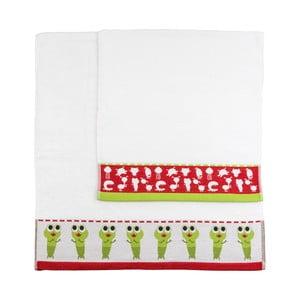 Zestaw 2 ręczników Little Alien, 50x100 cm i 70x140 cm