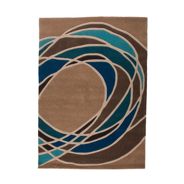 Dywan Flair Rugs Spectre Taupe/Teal, 160x230 cm