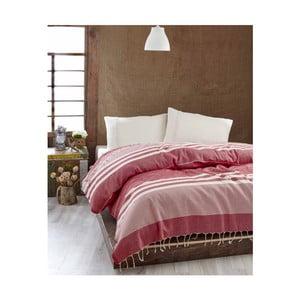 Lekka   narzuta na łóżko Hereke Red, 200x235 cm