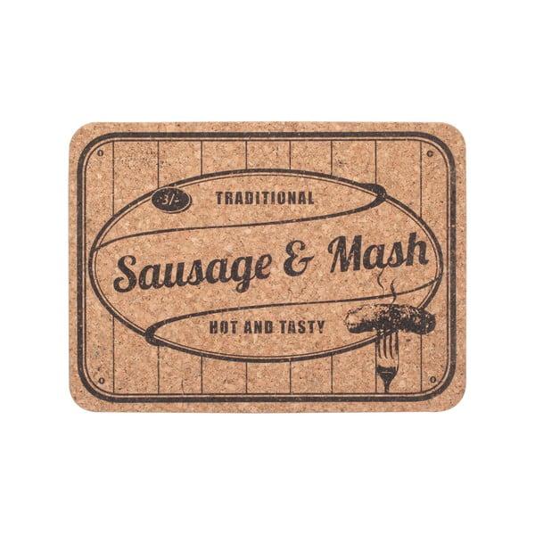 Zestaw 2 mat śniadaniowych Sausage