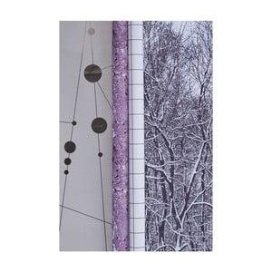 Zestaw 2 rolek papieru do pakowania Seasons vol. 1, 0,7x5 m
