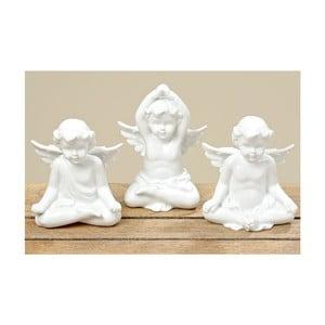 Zestaw 3 dekoracji Yoga Angel