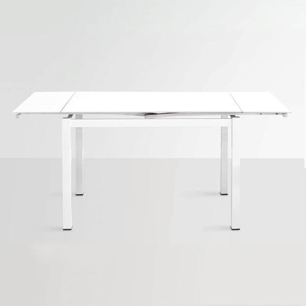 Stół rozkładany Queen, 110-170 cm, biały