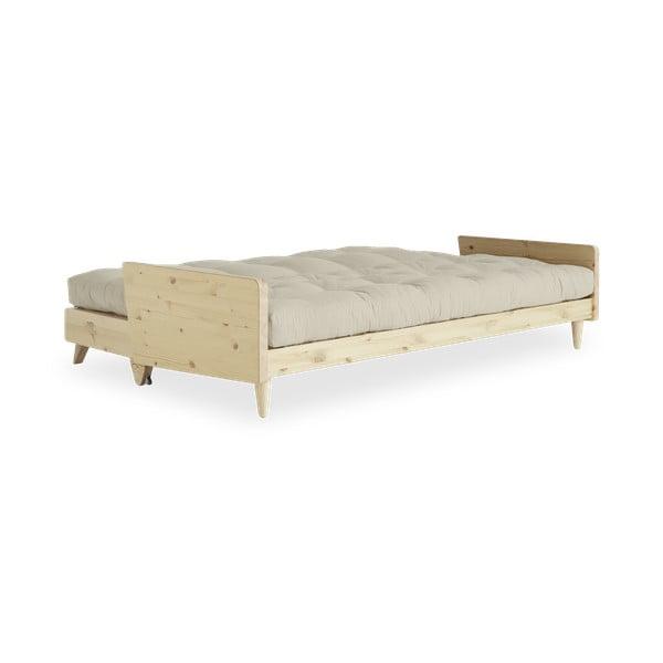 Sofa rozkładana Karup Indie Clear Lacquered/Vision/Gris