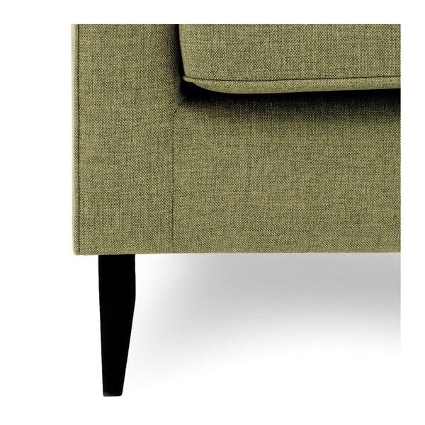 Zielony fotel Vivonita Bond
