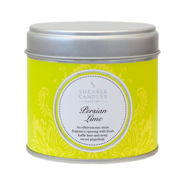Świeczka zapachowa Shearer Candle 7 cm, limonka