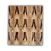 Dywan skórzany Springbok, 120x180 cm