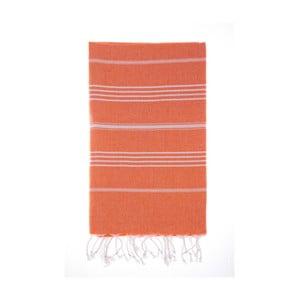 Ręcznik hammam Cesme Orange, 100x180 cm