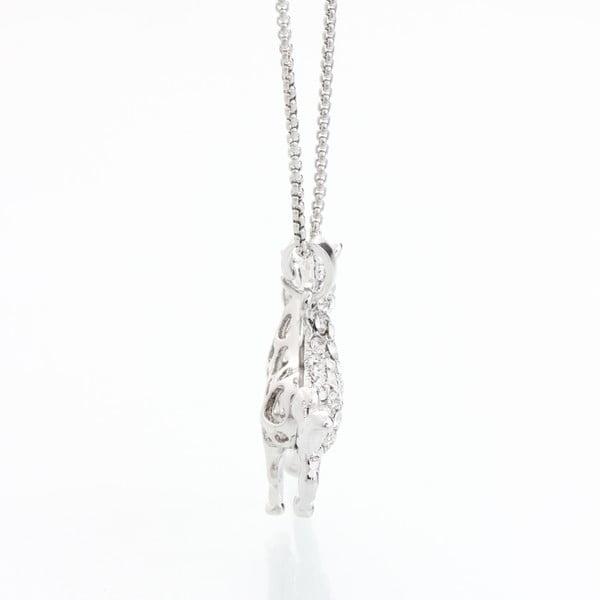Naszyjnik z kryształami Swarovski Elements Laura Bruni Foal